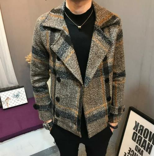 Men's Fashion Lapel Wool Jackets