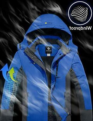 GEMYSE Mountain Waterproof Ski Windproof