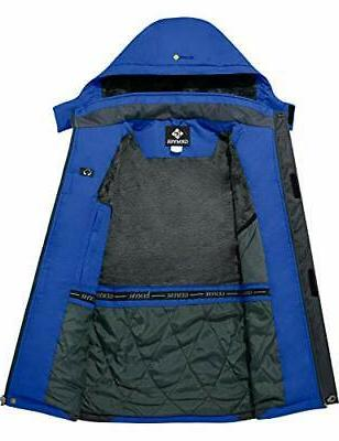 GEMYSE Men's Mountain Ski Windproof Rain