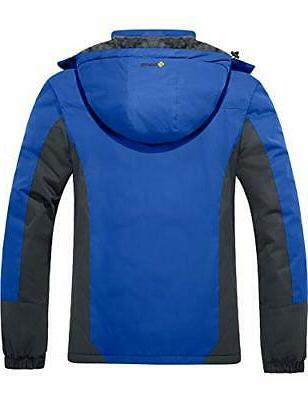 GEMYSE Men's Ski Snow Windproof