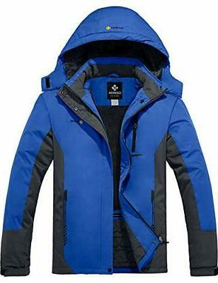 men s mountain waterproof ski snow jacket