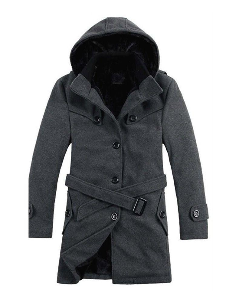 Men's Padded Hooded Coats