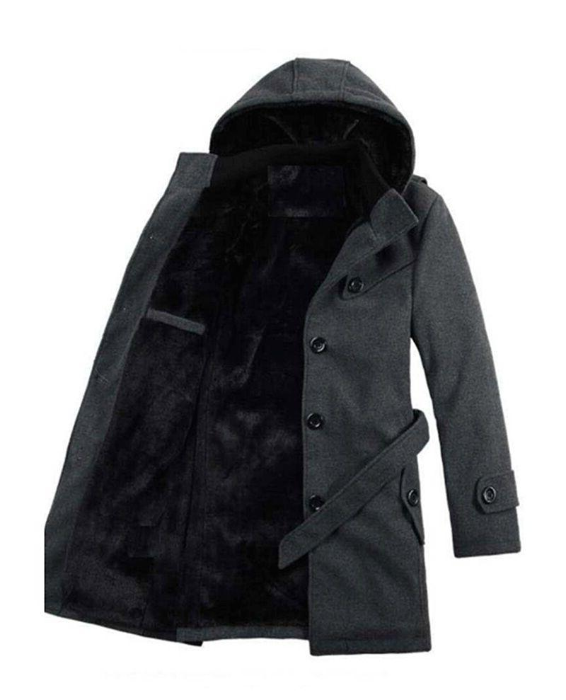 Men's Padded Hooded Coats Jackets
