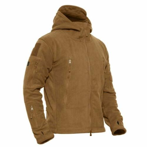 Mens Outdoor Tactical Jacket Windproof