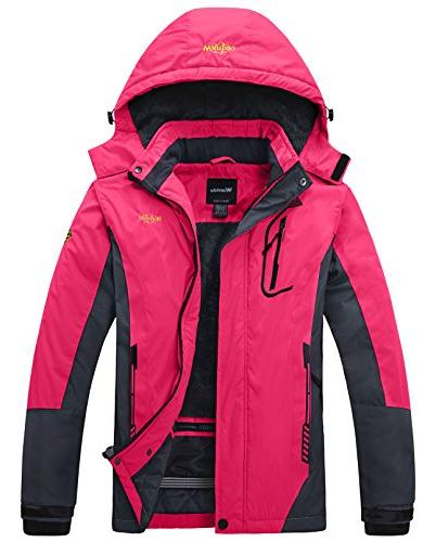 waterproof mountain jacket fleece ski