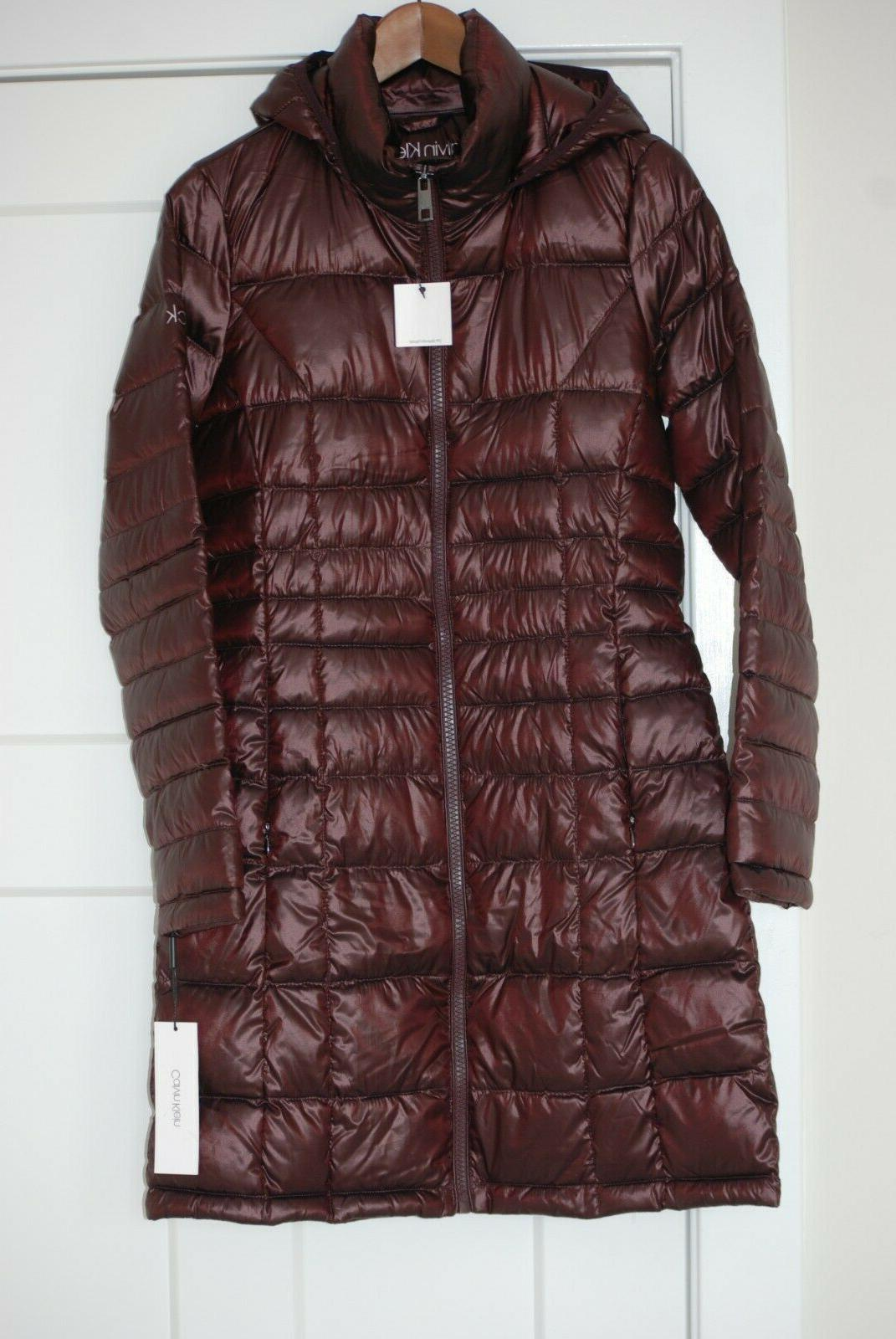 new women s packable down hooded long