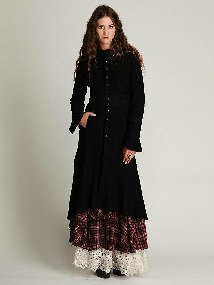 NWOT Free Victorian Maxi Duster