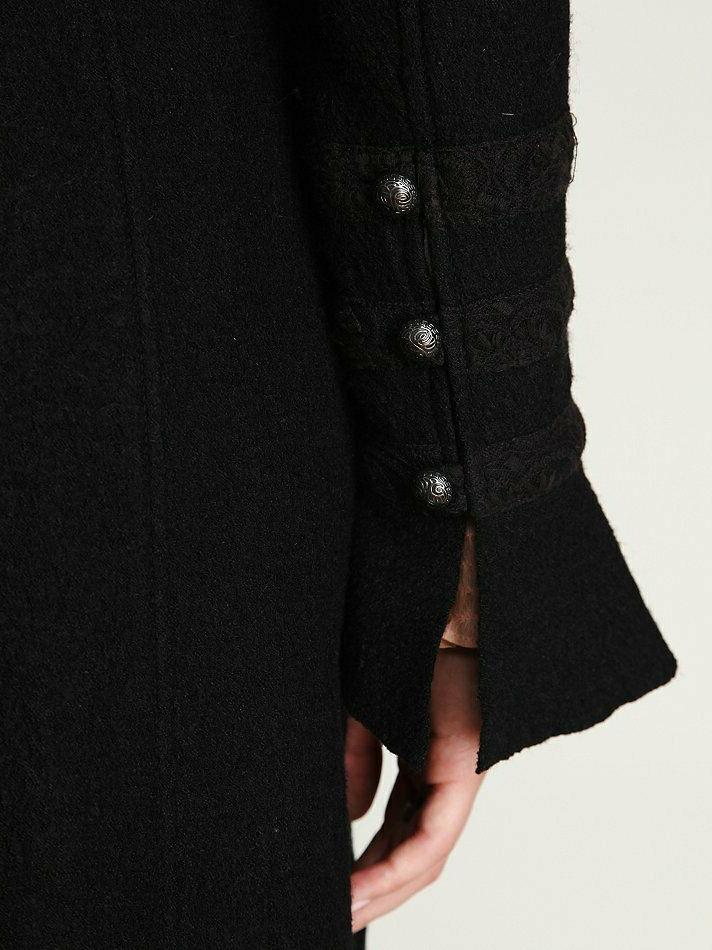 Victorian Wool Maxi Duster Coat Size 8