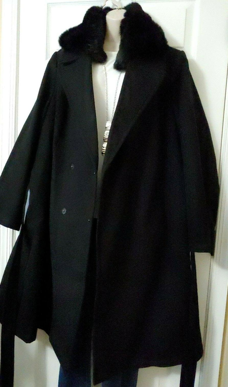 Lane Bryant NWT DEAL of the DAY Black Coat Pockets 22/24