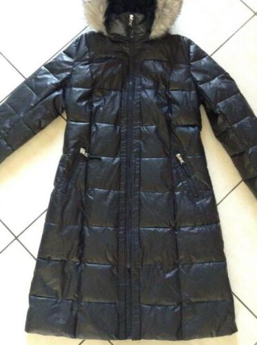 NWT Calvin Hooded Long in L