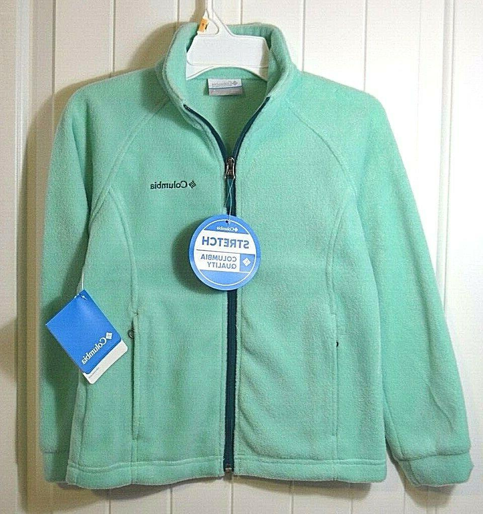 nwt girls youth benton springs turq fleece