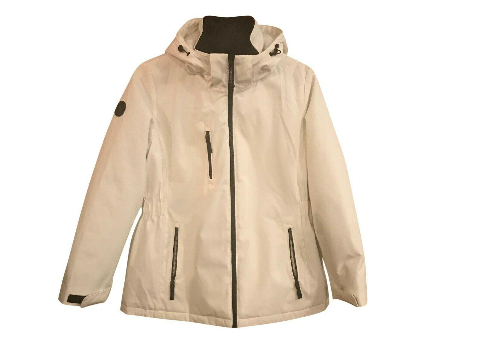 Calvin Klein NWT Size 2X-Large Women's System Hooded Jacket