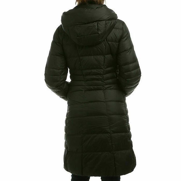 NWT Women's Down Hooded Parka Coat Black M, L,XL