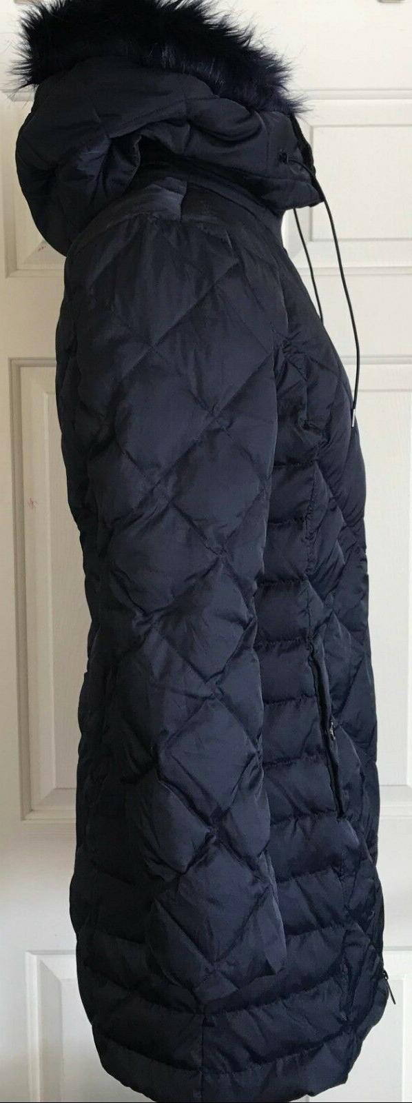 NWT Womens Kenneth Cole Reaction Hooded Coat