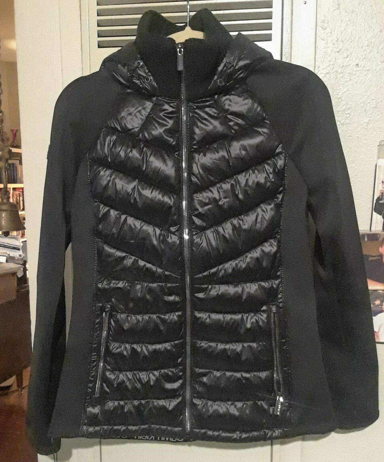 CALVIN KLEIN PERFORMANCE WOMEN'S SIZE SMALL BLACK DOWN COAT