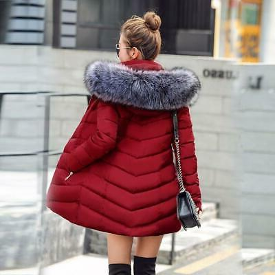Sexy Fashion New Winter Cotton For Women Thick Snow Wear Coat Siz