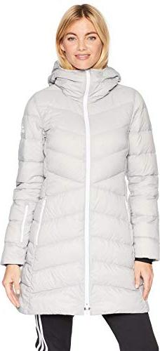 adidas Sport Performance Women's Climawarm Nuvic Jacket, Gre