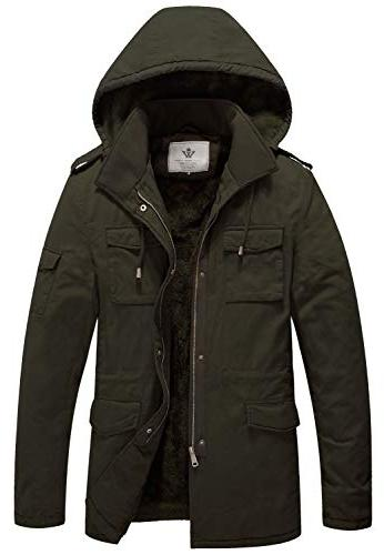 superior hooded work coat