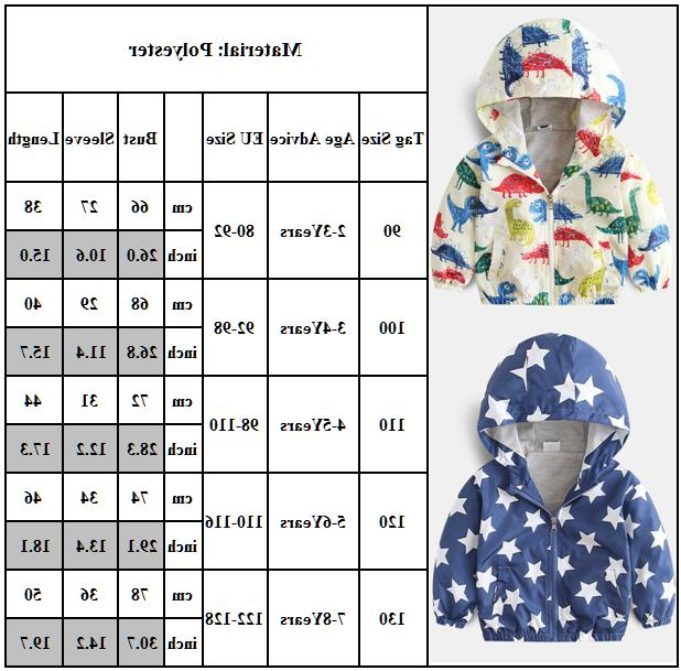 Toddler Baby Girls Hoodie Jacket