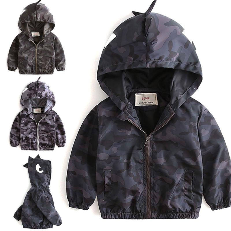 Toddler Baby Kids Hoodie Jacket Winter Warm Outerwear Windbreaker Top