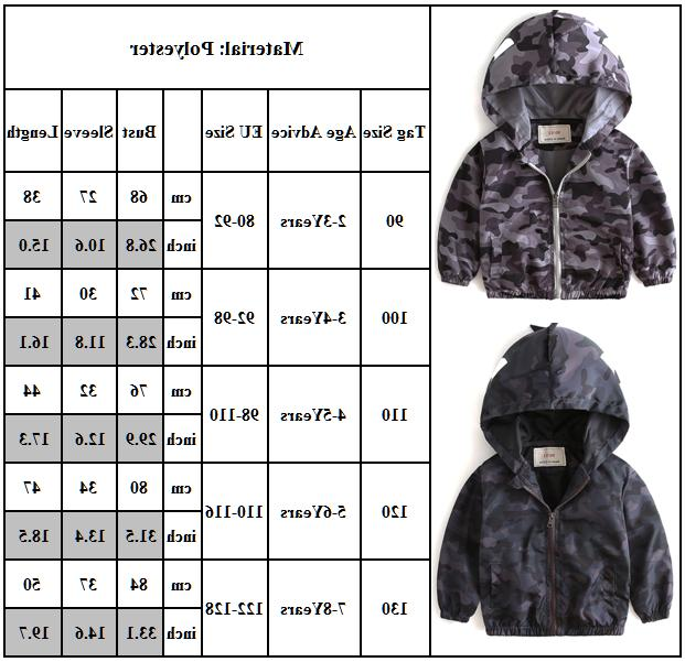 Toddler Baby Girls Hoodie Warm Outerwear Windbreaker