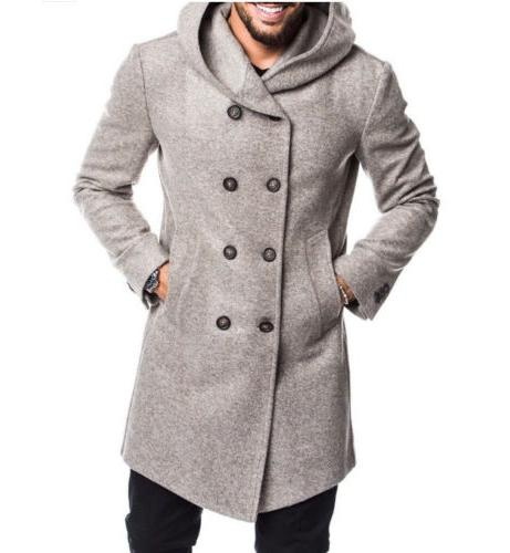 US British Overcoat Trench Winter Coat Outwear