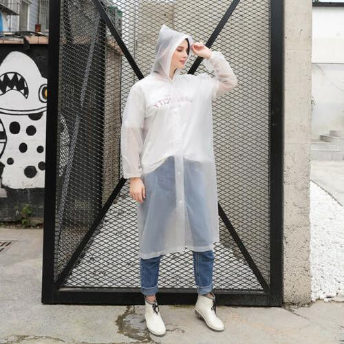 US Waterproof Hooded Raincoat Rainwear