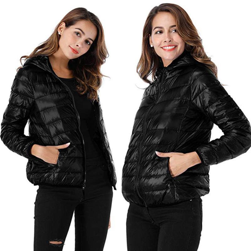 Women Parka Jacket Puffer Coat
