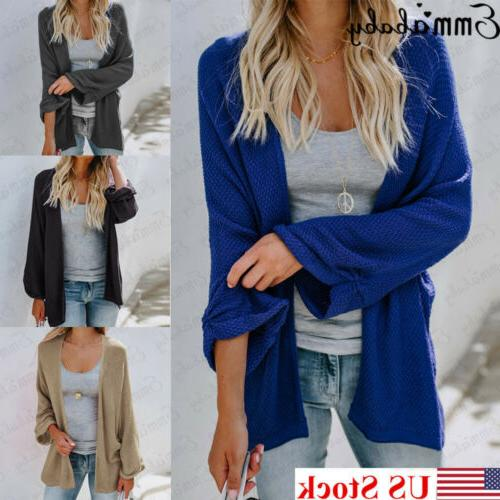 US Baggy Cardigan Knitted