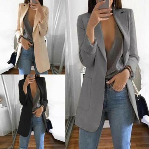 US Womens Vintage Fit Blazer Casual