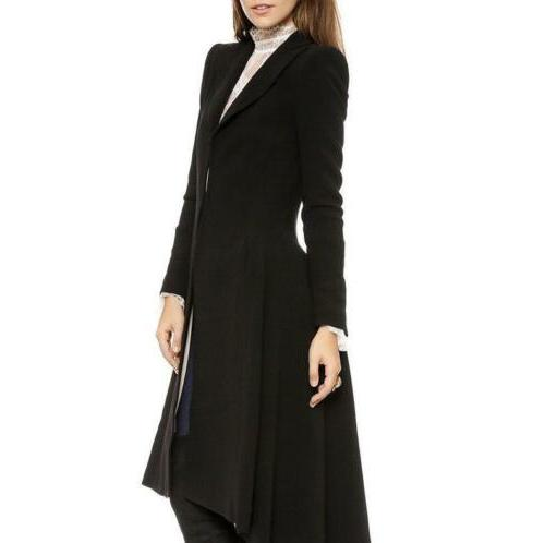 Vintage Steampunk Swallow Tail Goth Long Trench Coat Jacket Blazer