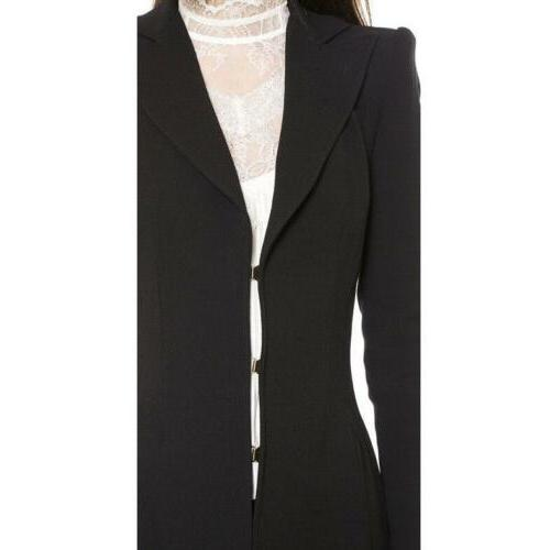Vintage Tail Goth Trench Coat