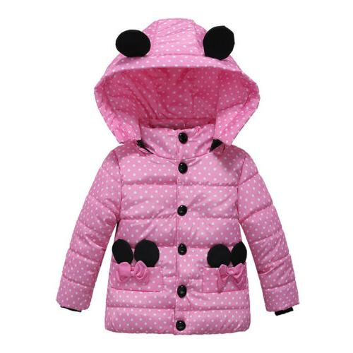 Winter Baby Girls Outerwear