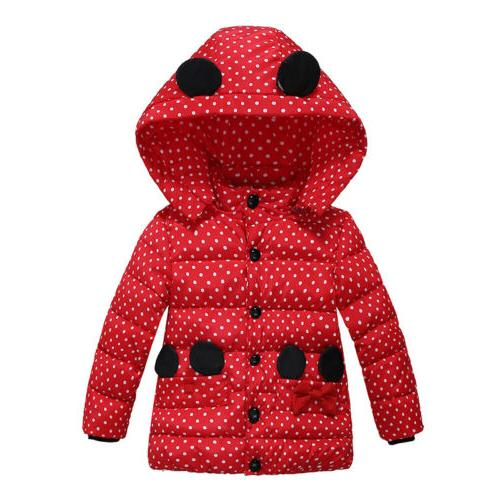 Winter Girls Jacket Outerwear Coat