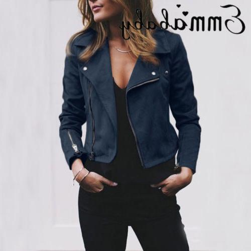Women Ladies Coats Casual Outwear US