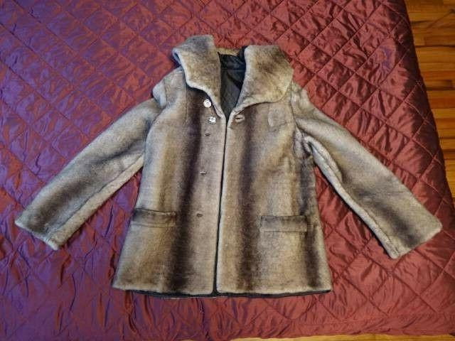 Women coat made from sheared Size