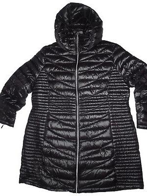 women s down filled black winter coat