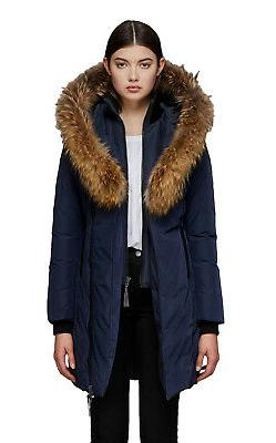 MACKAGE Women's KAY Mid Length Classic Down Parka Coat