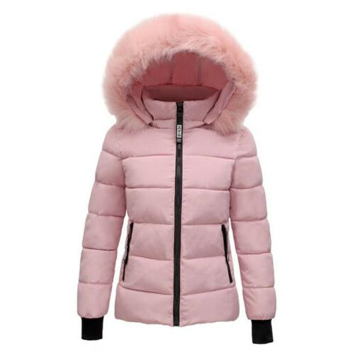 US Winter Thicken Quilted Coat Outwear