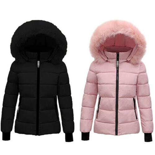 US Fur Winter Coat Parka Outwear