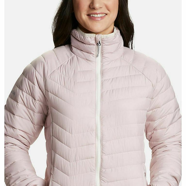 Columbia Large Lite Jacket Dusty Pink NWT MSRP NEW