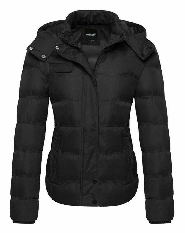 women s thick winter coat quilted puffer