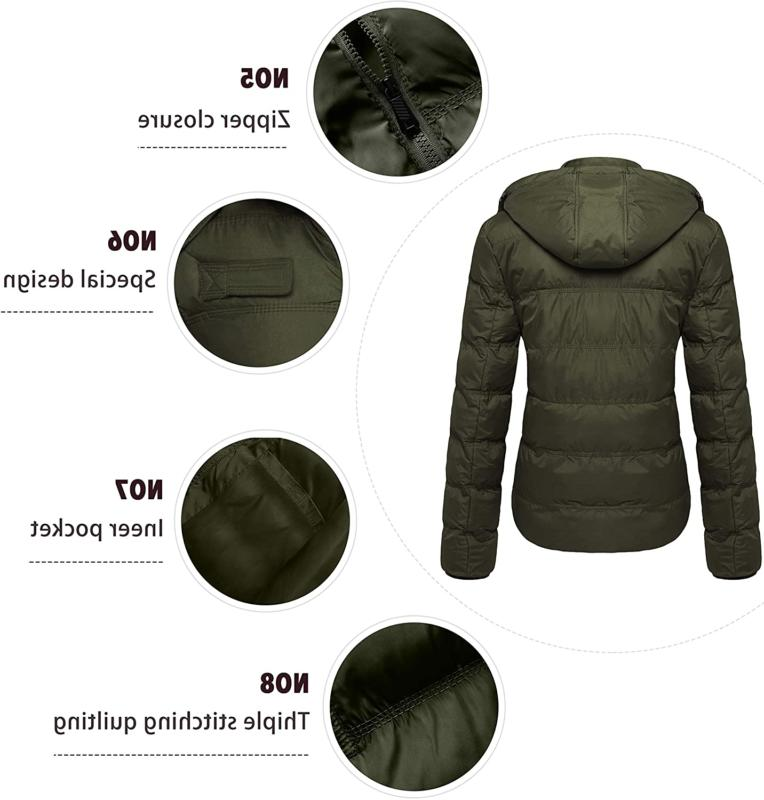 Wantdo Thick Coat Puffer Jacket with