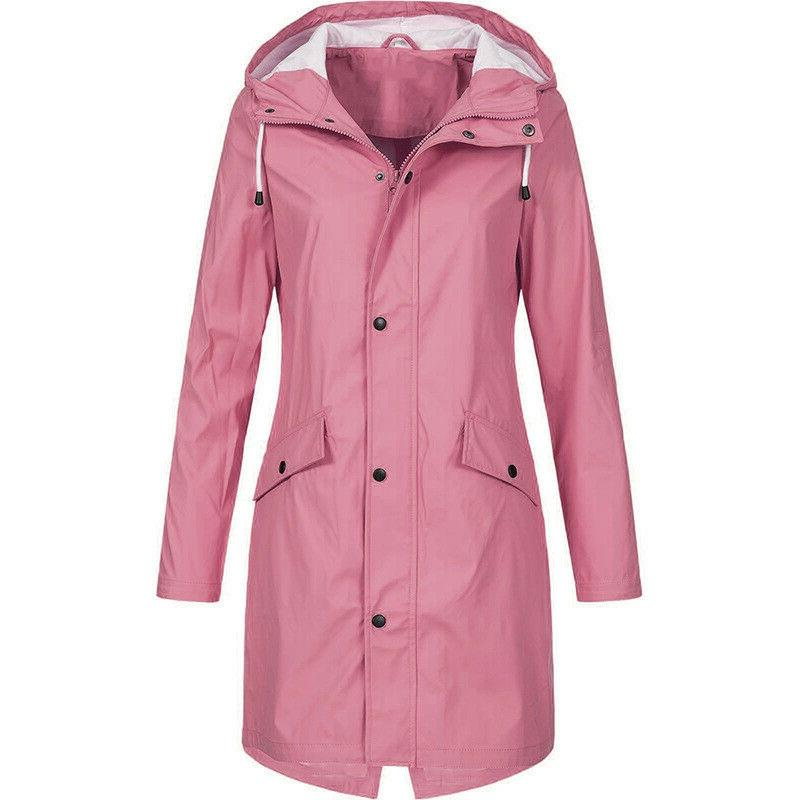 Women's Jacket Packable Raincoat