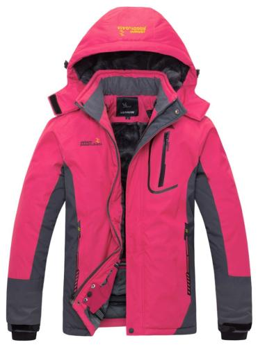 women s waterproof mountain jacket fleece ski