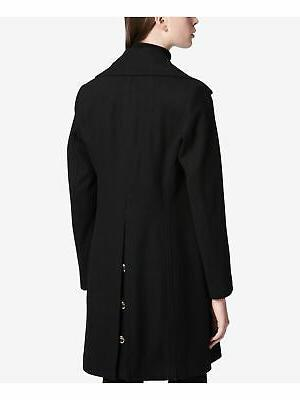 CALVIN KLEIN Womens Buttoned Peacoat Size: