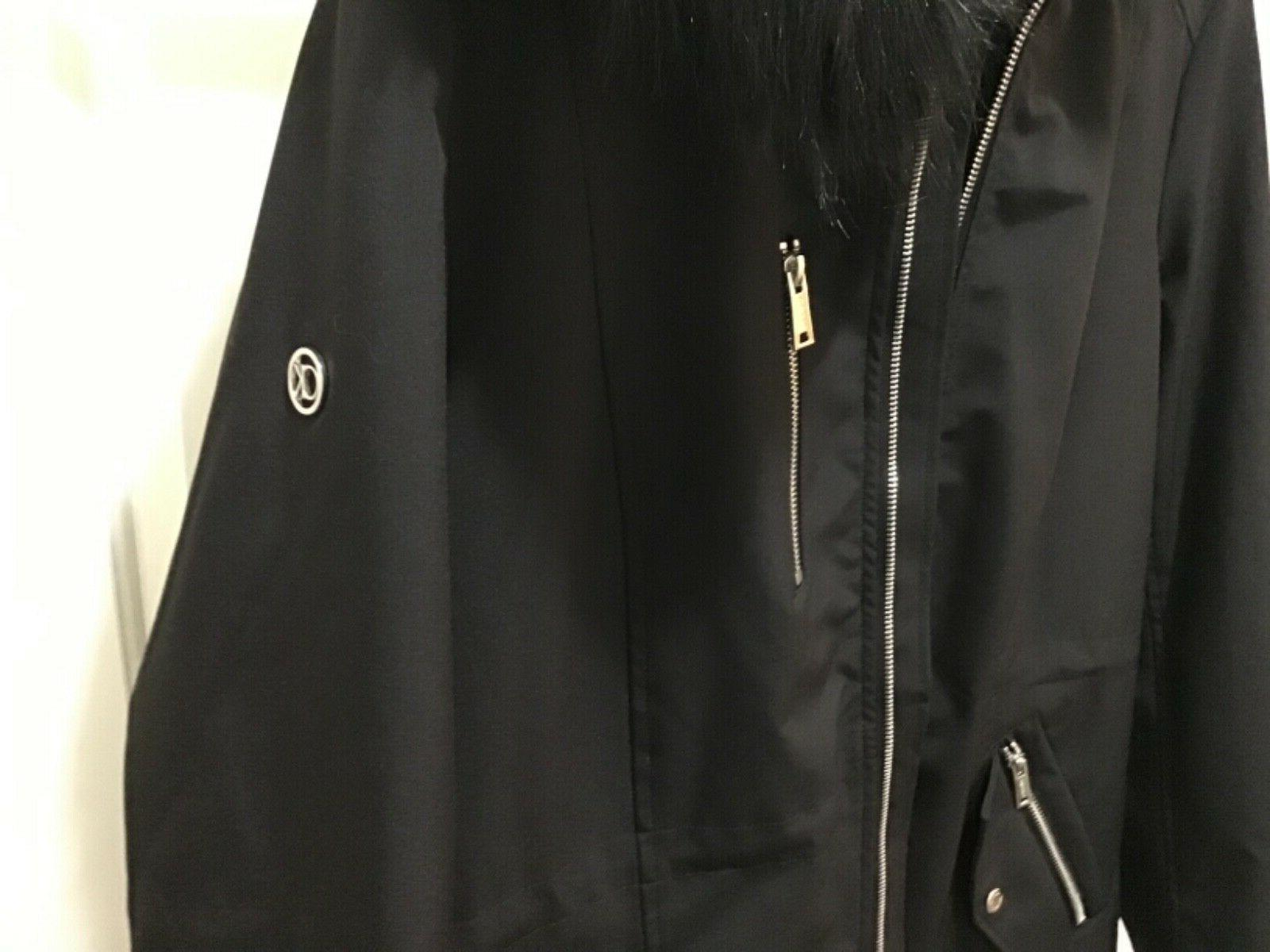Womens Calvin Klein Black Softshell Winter with Hood XL