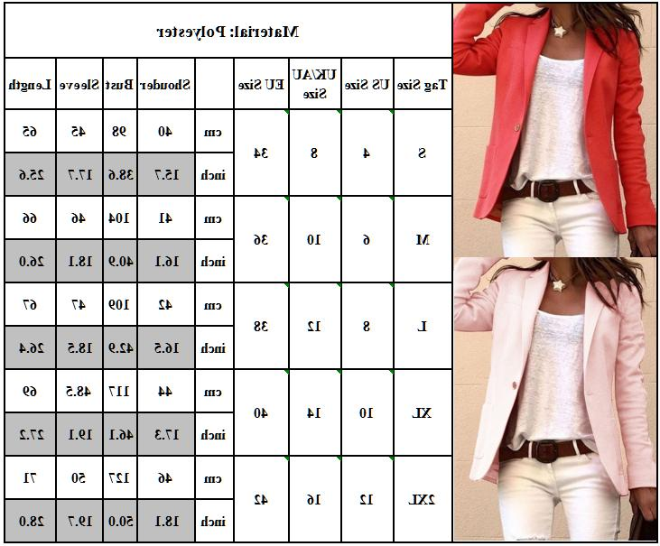 Womens Candy Color Sleeve Casual Slim Jacket Coats