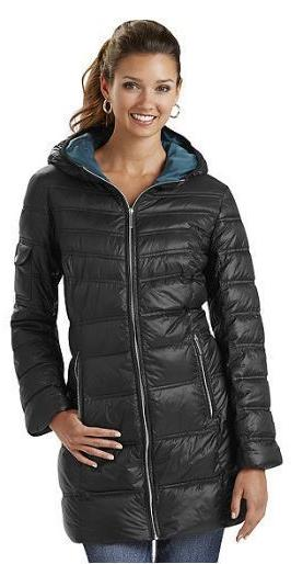 Outdoor Hooded Down Bubble Coat Packable Light