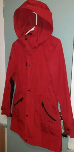 Womens Coat Red & Small